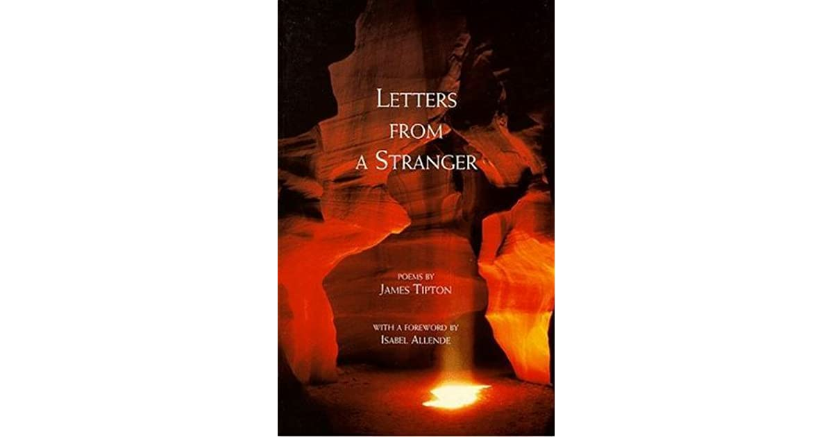 Letters From A Stranger By James Tipton