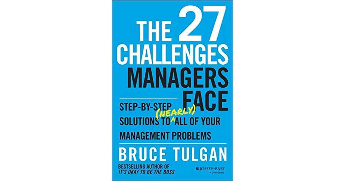 challenges faced by modern managers of The challenges leaders face around the world more similar than different by: why look at these challenges the life of a modern-day leader clearly is not.