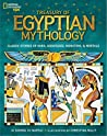 Book cover for Treasury of Egyptian Mythology: Classic Stories of Gods, Goddesses, Monsters & Mortals (National Geographic Kids)