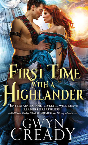 First Time with a Highlander (Sirens of the Scottish Borderlands, #2)