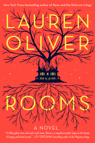 "Book cover of ""Rooms"" by Lauren Oliver"
