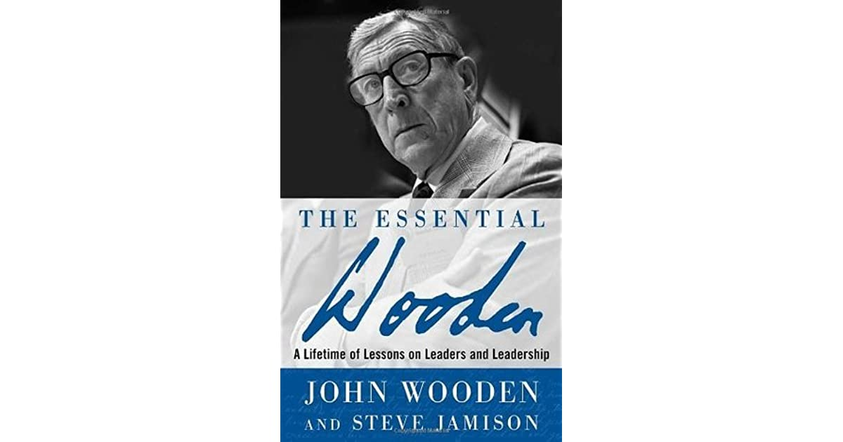 book report on john wooden wooden on leadership Bus 518 project management leadership – strayer in the current business world, team projects are commonplace this assignment will use john woodens pyramid of success, its different facets, how it relates to project management leadership, and how it is fulfilled in different circumstances.