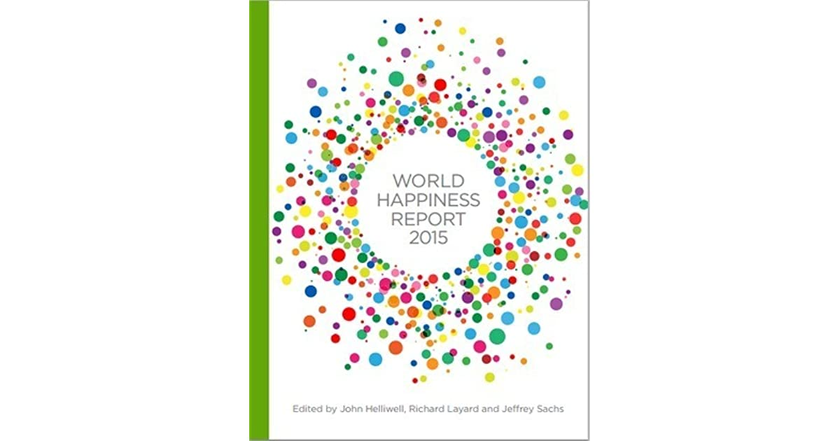 World happiness report 2015 by john f helliwell freerunsca Choice Image