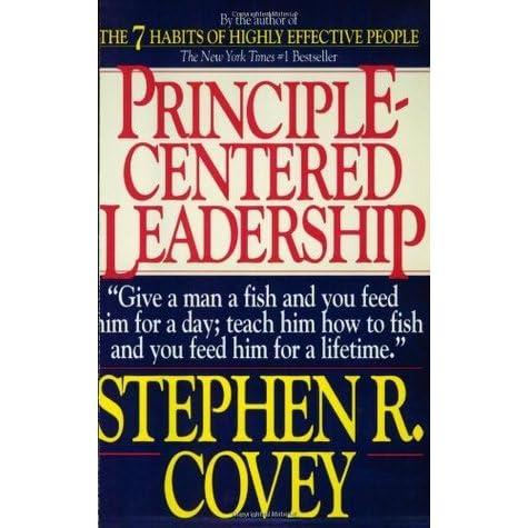 Principle-centered Leadership Pdf