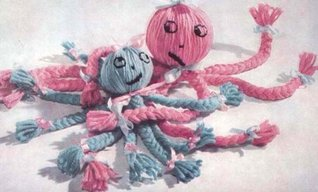 Vintage Toy Pattern Braided Mother Octopus & Baby EBook Download