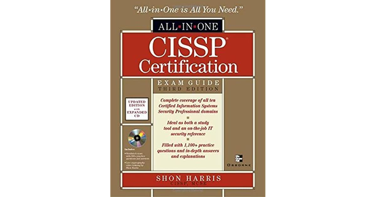 Cissp Shon Harris Ebook