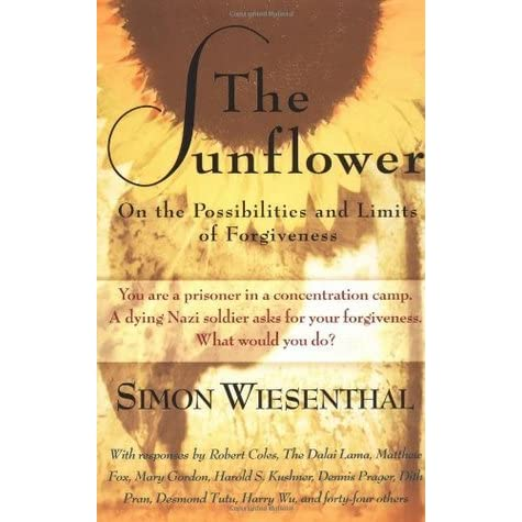 essay on the sunflower by simon wiesenthal What does simon not fear because of him time in the camps  how did some aryan jews survive during the war they would enlist into the german army under false papers what happened to simon's mother while living in a ghetto she was taken away during a raid  the sunflower- questions for comprehension 45 terms sunflower test 26 terms.