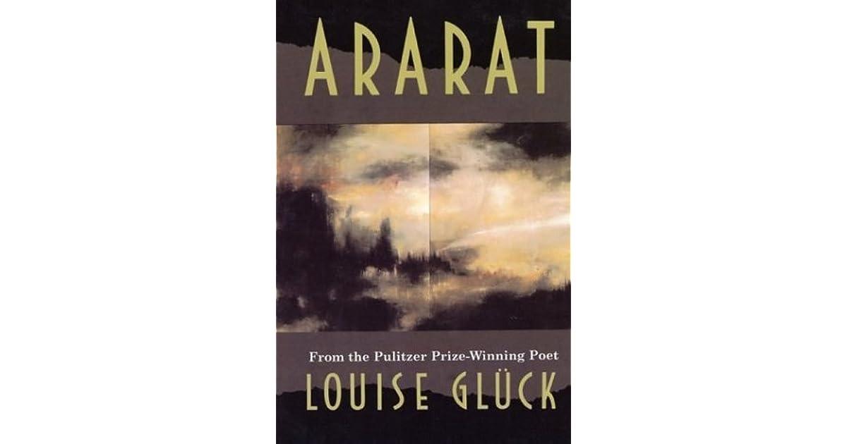 Ararat By Louise Gluck