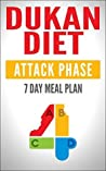 DUKAN DIET: Attack Phase Meal Plan: 7 Day Weight Loss Plan (Dukan Diet Recipes, Lose Weight Naturally, Burn Fat, Build Muscle, Lose Weight)