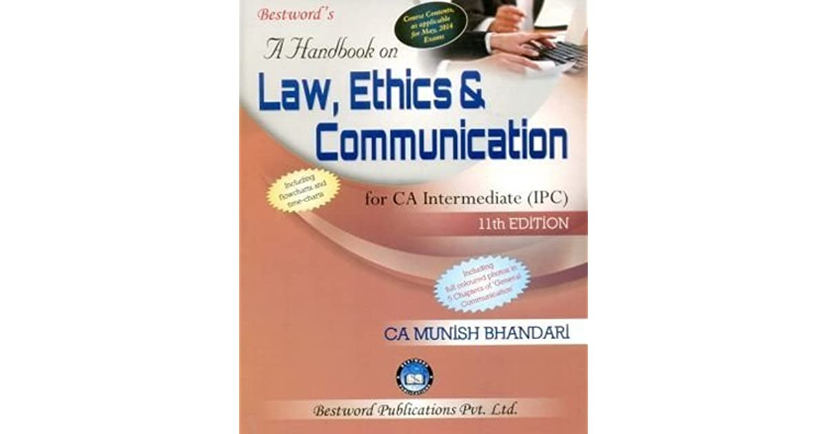 Ca Ipcc Law Book Munish Bhandari