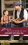 Love Inspired Historical January 2015 Box Set: Wolf Creek Father / Cowboy Seeks a Bride / Falling for the Enemy / Accidental Fiancee