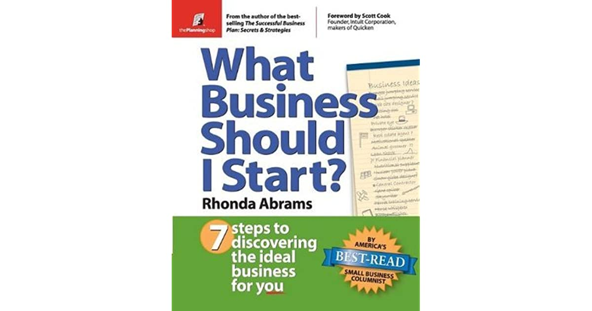 What Business Should I Start 7 Steps To Discovering The Ideal