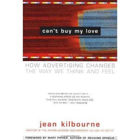 jean kilbourne essay Paper details: 1) how does jean kilbourne argue that advertising destroys relationships do you agree with her why or why not defend and support your position with course material.