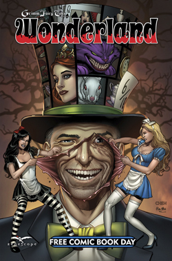 Grimm Fairy Tales Wonderland Special Edition Free Comic Book Day 2015
