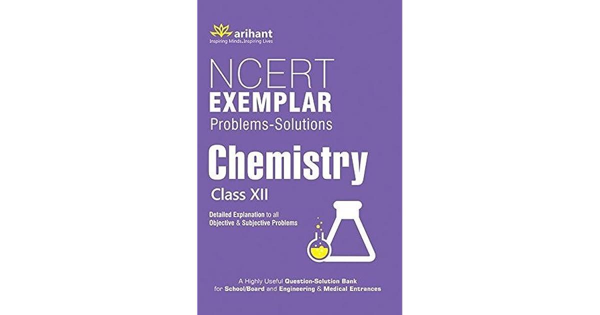 Ncert exemplar class 12 chemistry book pdf   NCERT Chemistry