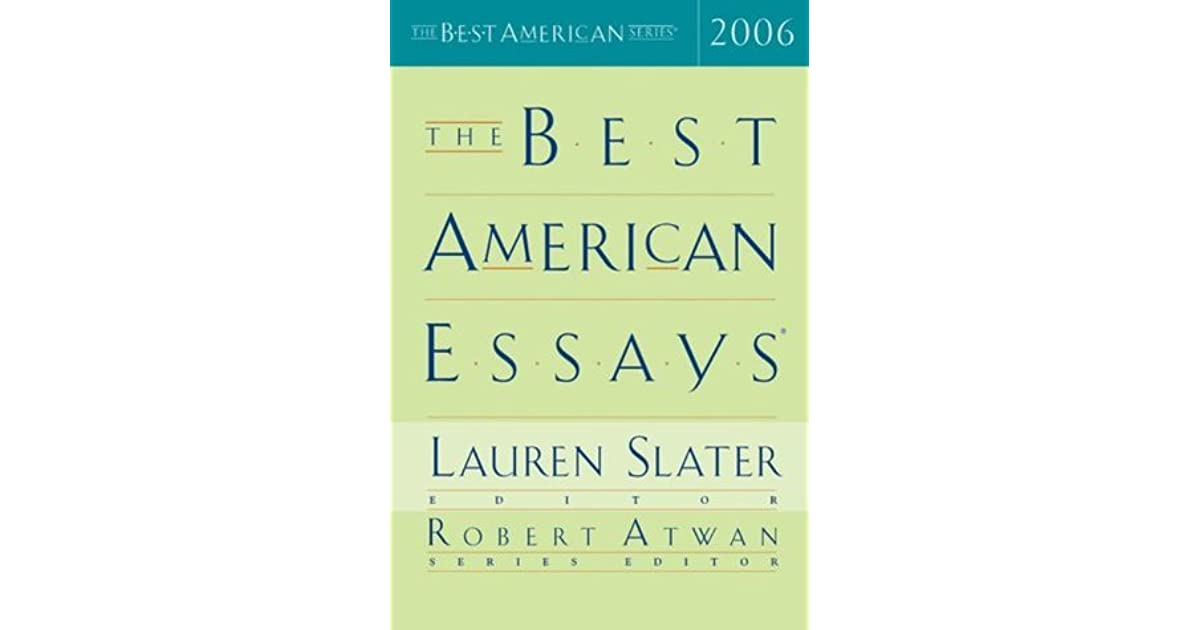 The best American essays.