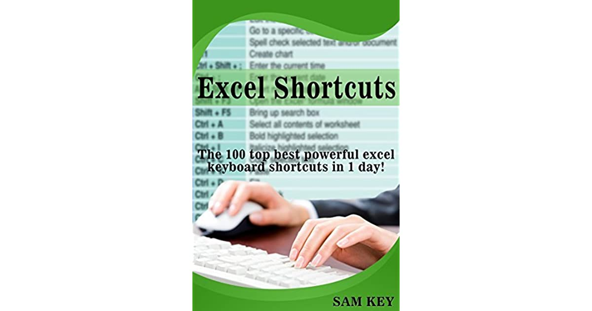 excel shortcuts the 100 top best powerful excel keyboard shortcuts