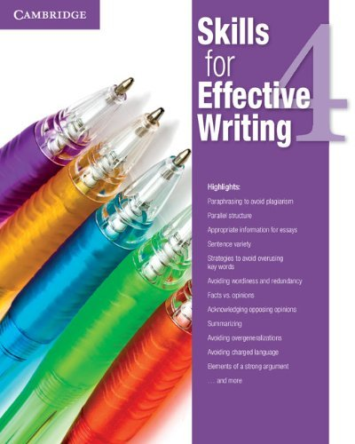 skills for effective writing 3--134