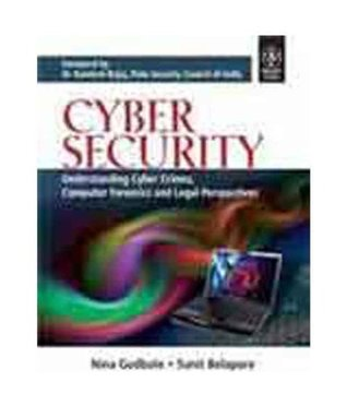 Cyber Security (with CD): Understanding Cyber Crimes, Computer Forensics and Legal Perspectives (Wind)