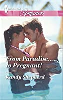 From Paradise...to Pregnant! (Harlequin Romance Large Print)