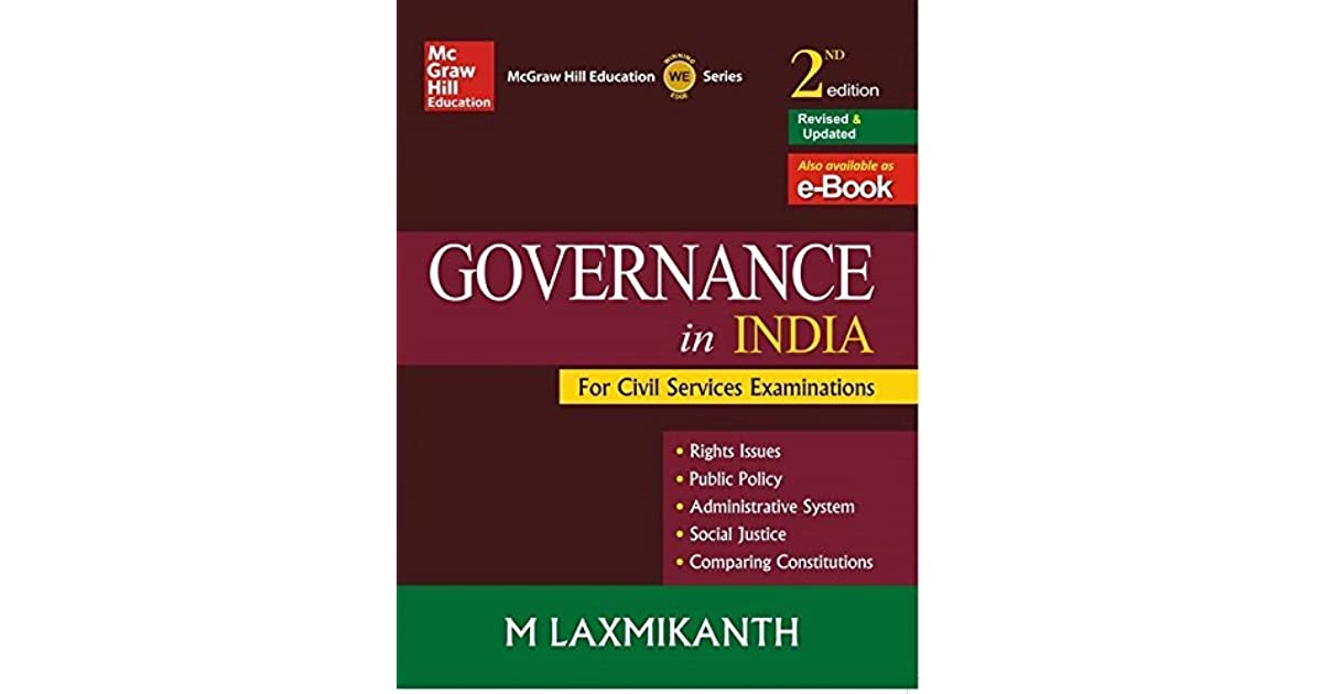 GOVERNANCE IN INDIA LAXMIKANTH PDF DOWNLOAD