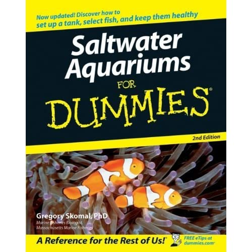 Saltwater aquariums for dummies by gregory skomal ccuart Gallery