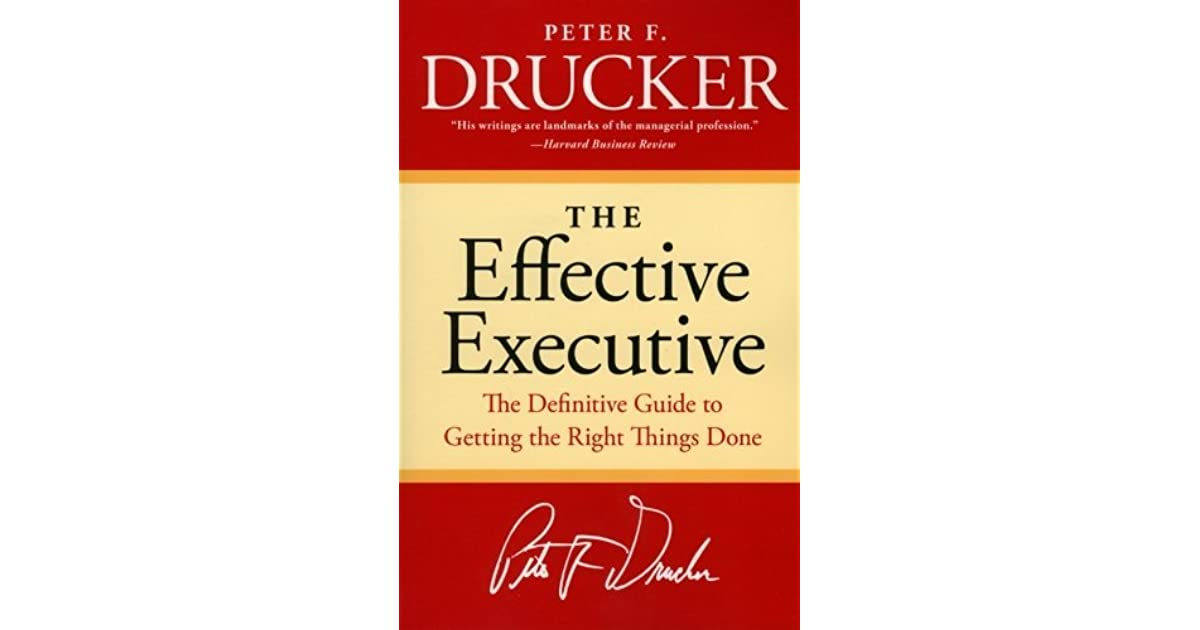 The Effective Executive Epub