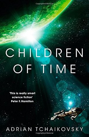 book cover for Children of Time