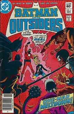 Batman and the Outsiders (1984-) #4