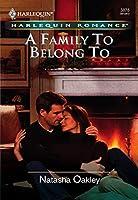 A Family To Belong To (Mills & Boon Cherish) (Mills & Boon Romance)