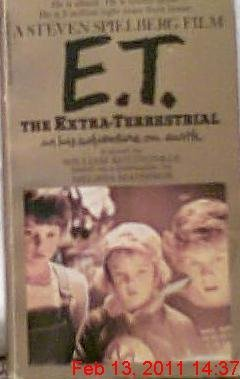 E.T. The Extra Terrestrial by William Kotzwinkle