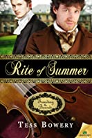 Rite of Summer (Treading the Boards, #1)