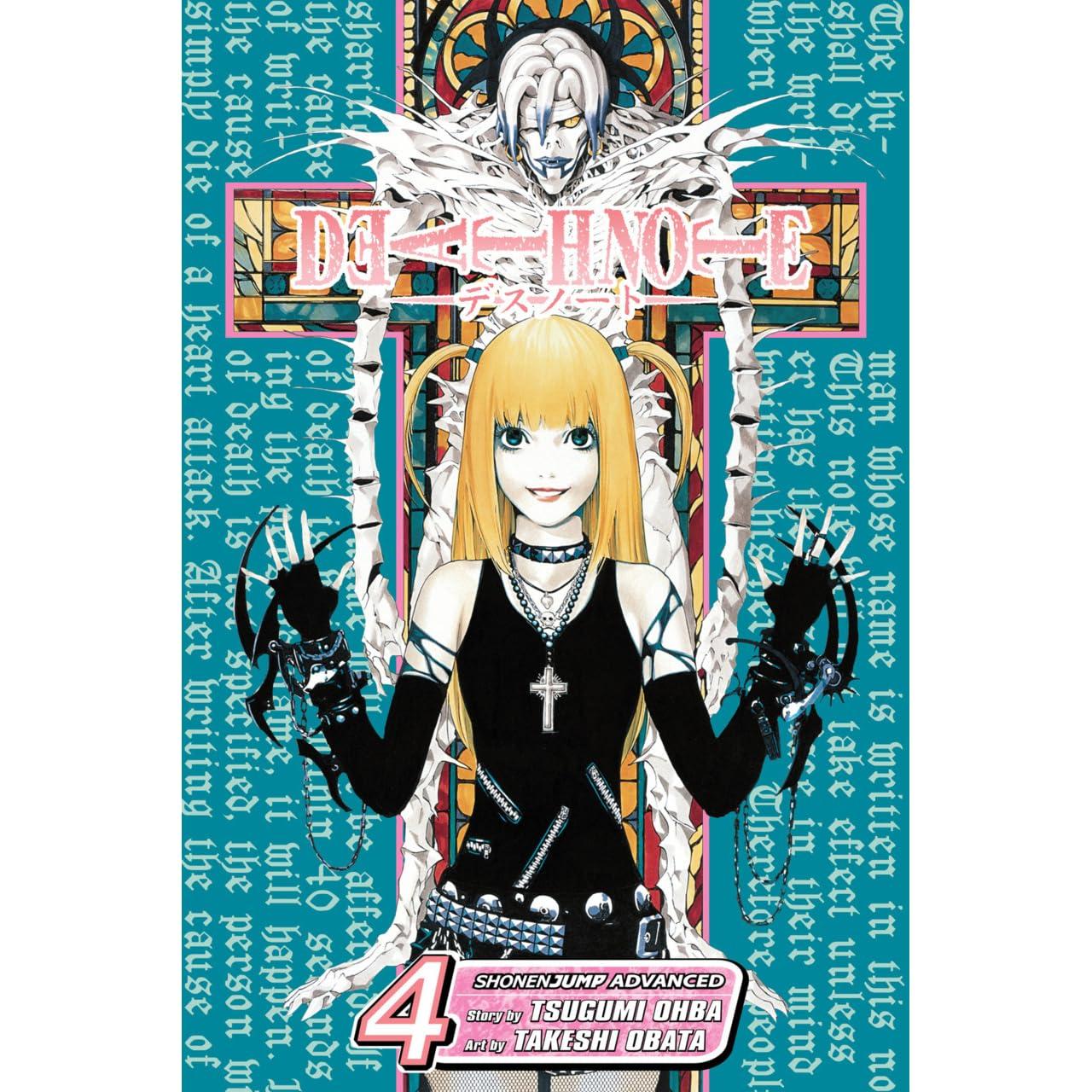 Read Death Note Vol 4 Love Death Note 4 By Tsugumi Ohba