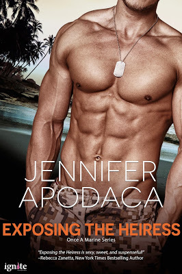 Exposing the Heiress (Once a Marine, #3)