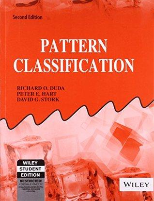 Pattern Classification By David G Stork