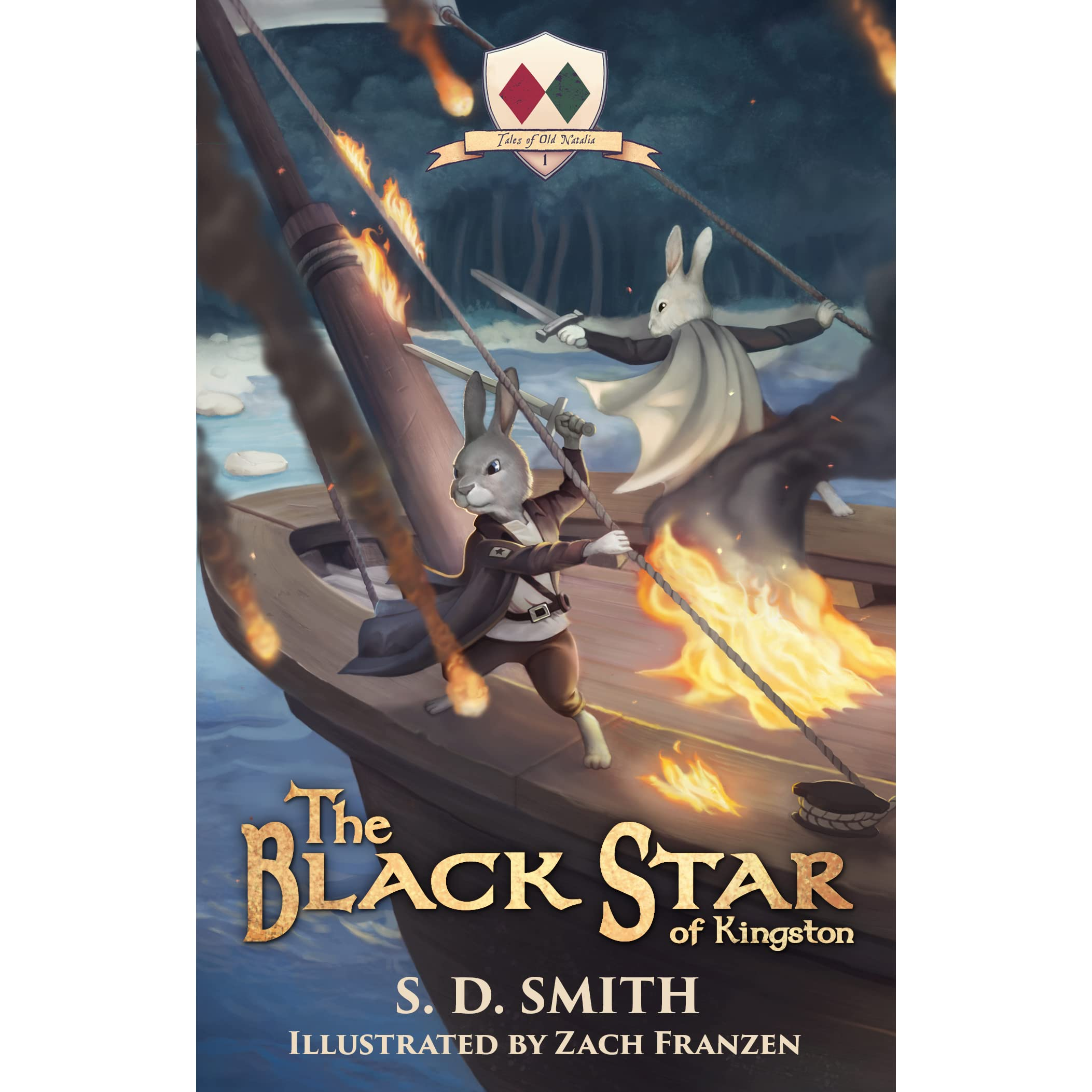 The Black Star Of Kingston (the Green Ember #05; Tales Of Old Natalia #1)  By Sd Smith — Reviews, Discussion, Bookclubs, Lists