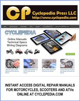 1992-2007 Yamaha XT225 Serow Service Manual by Cyclepedia ... on