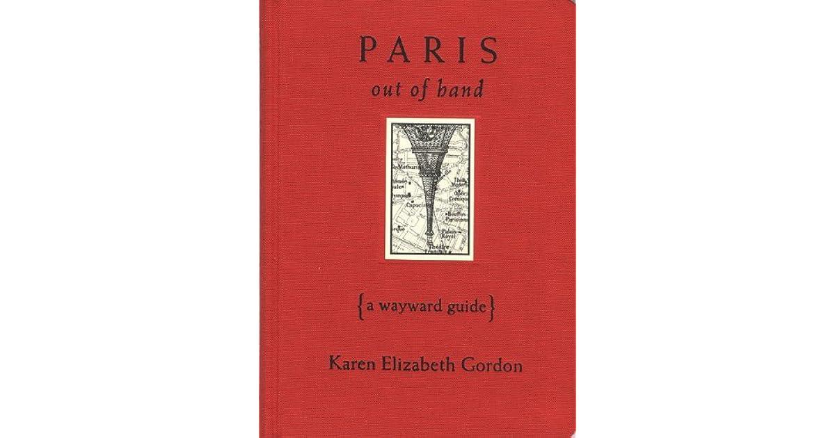 Paris introuvable - Karen-Elizabeth Gordon