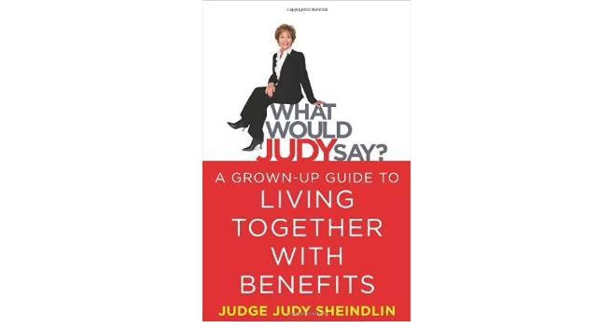 Everyone needs listen judge judys relationship advice
