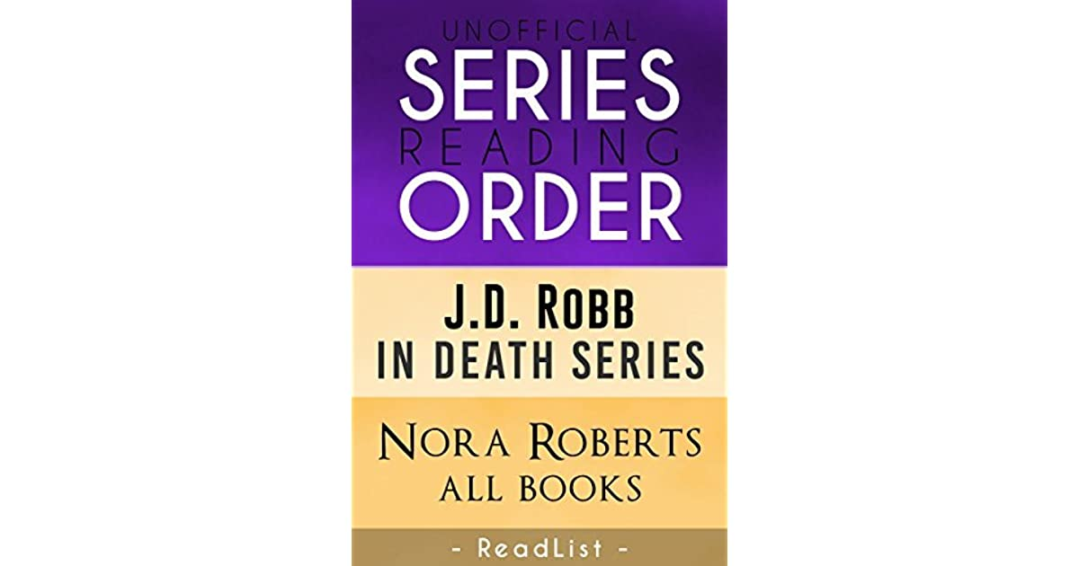JD Robb books in order