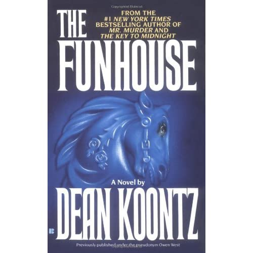 The Funhouse by Owen West and Dean Koontz (1994, Hardcover)