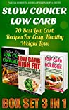 Slow Cooker Low Carb Box Set 3 in 1