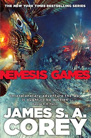 book cover for Nemesis Games