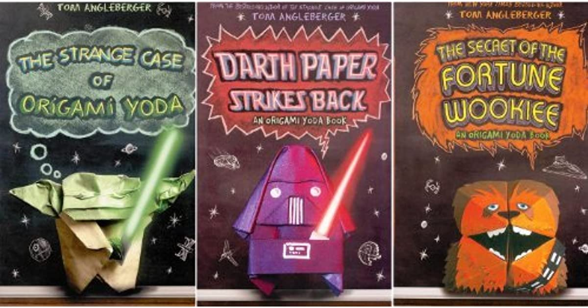 Origami Yoda Pack Paperback Book Pack The Strange Case Of