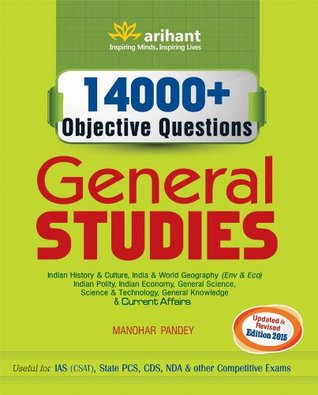 14000 + Objective Questions - General Studies by Manohar Pandey