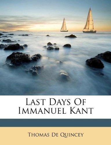 Last Days of Immanuel Kant