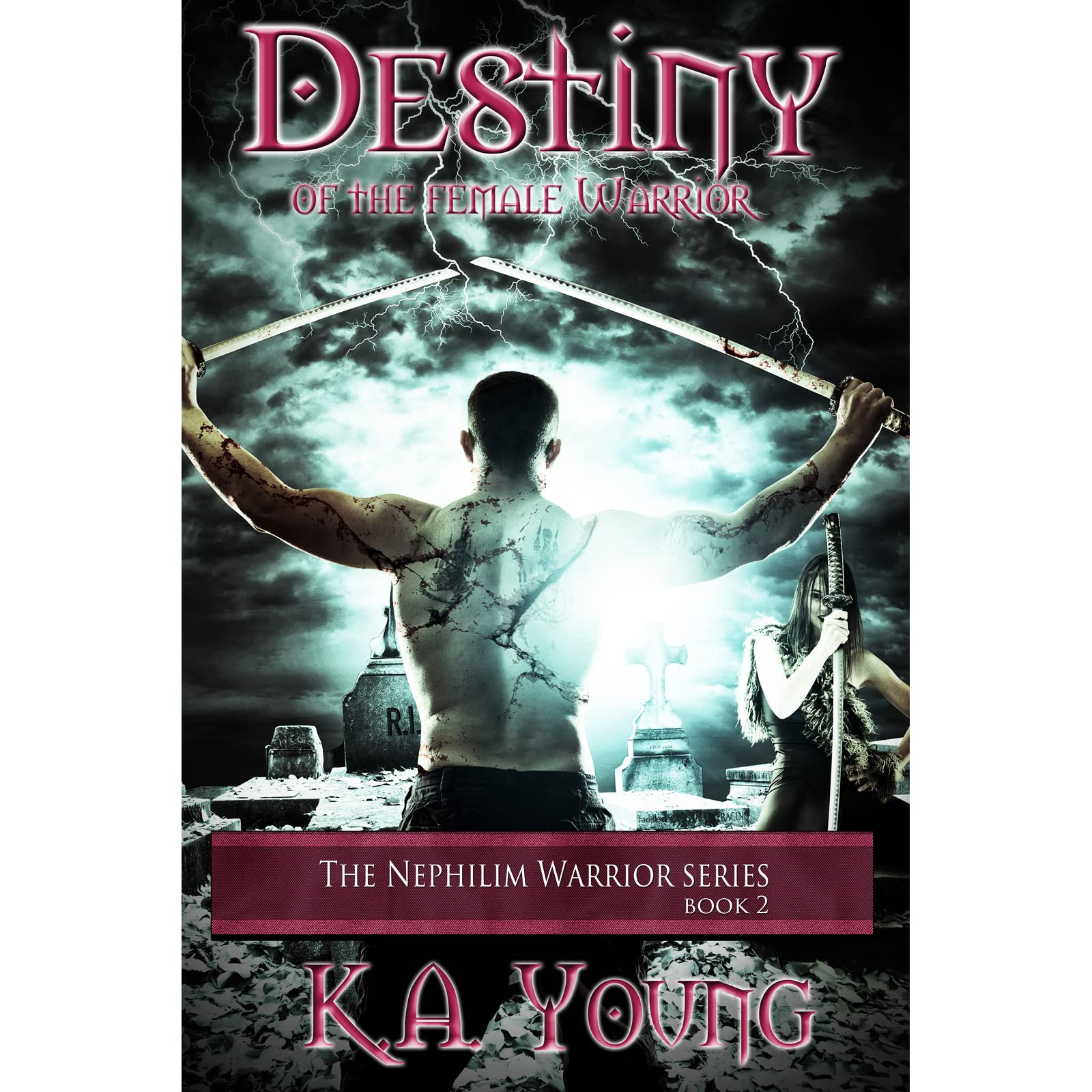 Destiny Of The Female Warrior (nephilim Warrior, #2) By Ka Young €�  Reviews, Discussion, Bookclubs, Lists