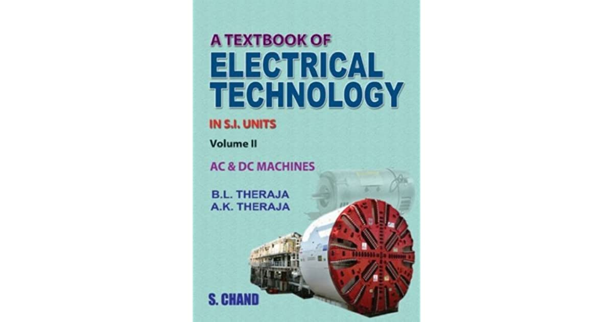 B.l.theraja Electrical Technology Vol.1 Pdf