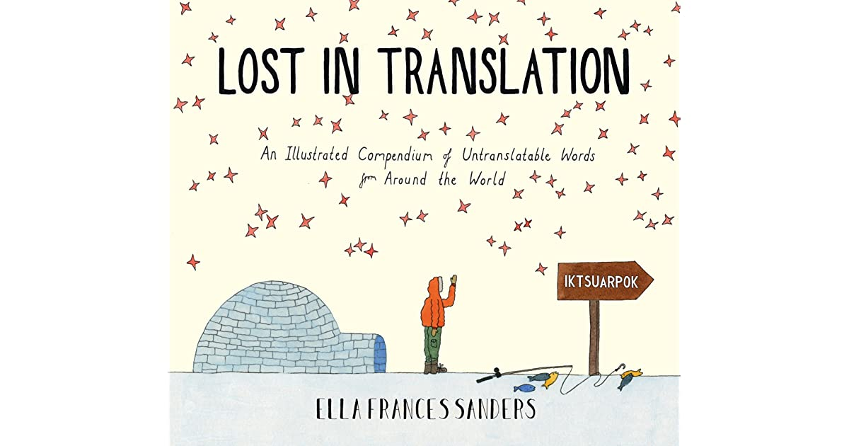 Nat's Review Of Lost In Translation: An Illustrated