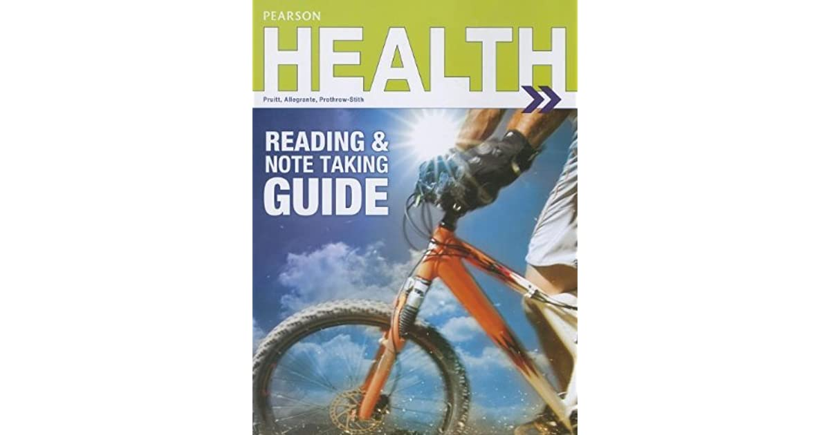 Prentice Hall Health 2014 Guided Reading Workbook Grade 9 12
